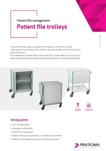 Patient file trolley range