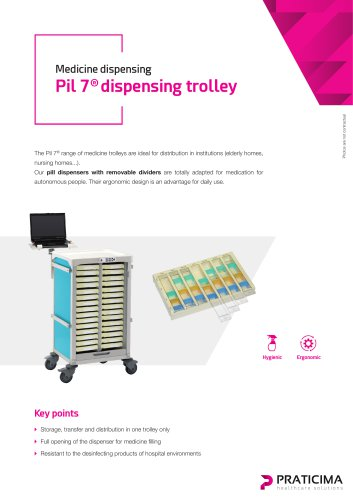 Pil 7 dispensing trolleys