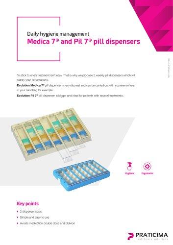 Pil 7® pill dispensers