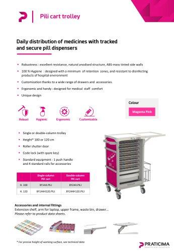 Pili cart distribution trolley