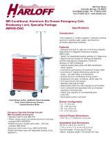 MR6B-EMG – ALUMINUM MR-CONDITIONAL EMERGENCY CART