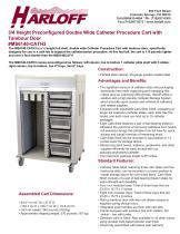 MS6140-CATH3 – DOUBLE COLUMN CATHETER PROCEDURE CART - 1