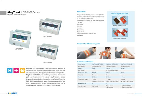 Magnet Therapy LGT-2600 Series
