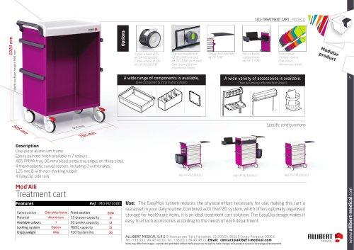 Mod'Alli Treatment cart