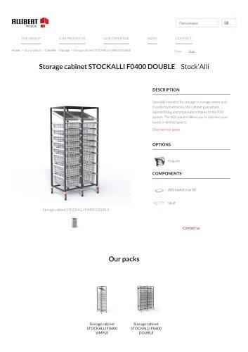 Storage cabinet STOCKALLI F0400 DOUBLE