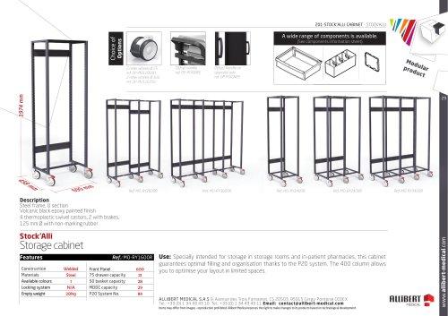 Storage cabinet STOCKALLI SIMPLE