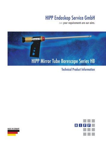 HIPP Mirror Tube Borescope Series HB