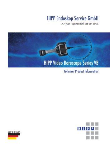 HIPP Video Borescope Series VB