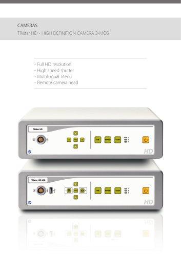 TRIstar HD - HIGH DEFINITION CAMERA 3-MOS