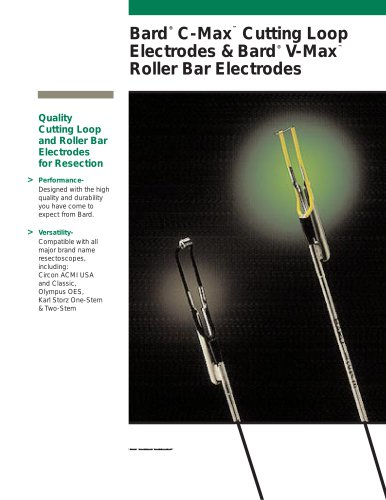 C-MAX? and V-MAX? Cutting Loop Electrodes
