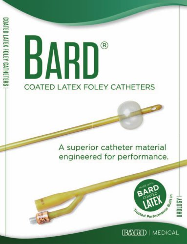 Coated Latex Foley Catheters