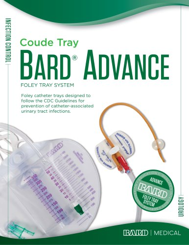 Coude Advance Foley Tray