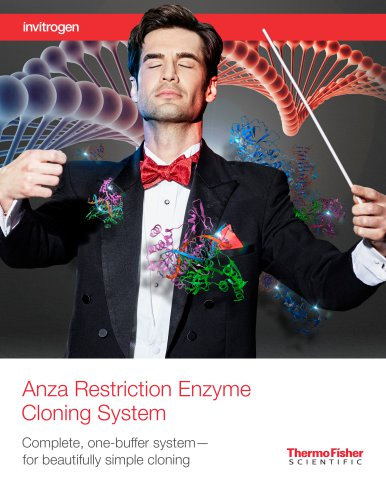 Anza Restriction Enzyme Cloning System
