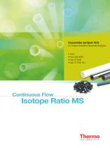 Continuous Flow Isotope Ratio MS