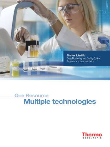Drug Monitoring and Quality Control Products and Instrumentation