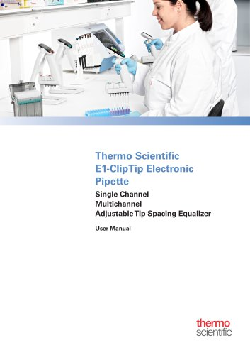 E1-ClipTip Electronic Pipette