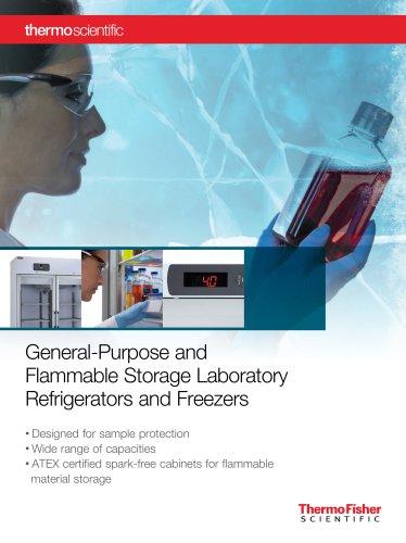 ES and GPS Laboratory Refrigerators and Freezers