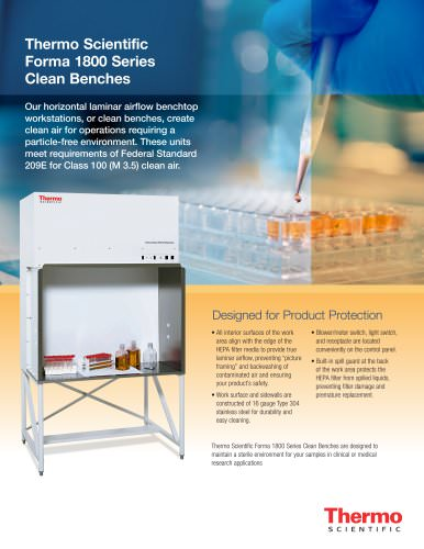 Forma 1800 Series Clean Bench