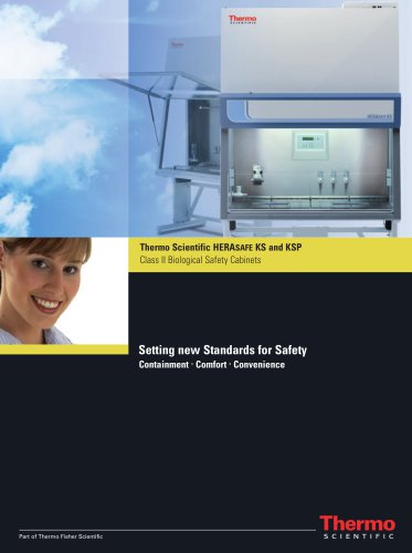 Herasafe KS and KSP Class II Biological Safety Cabinets
