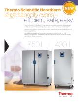 Heratherm Large Capacity Ovens