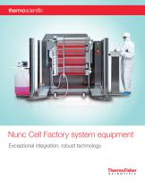 Nunc Cell Factory system equipment
