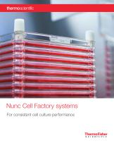 Nunc Cell Factory systems
