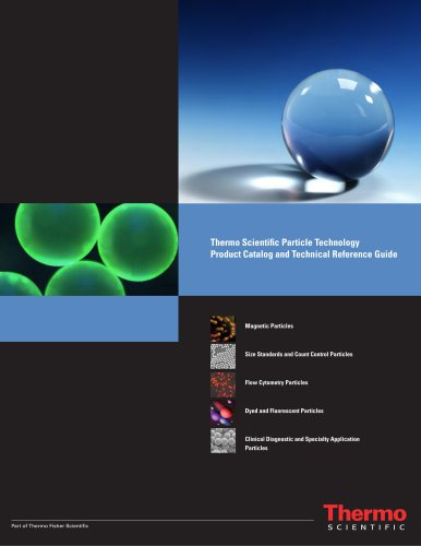 Particle Technology Product Catalog and Technical Reference Guide