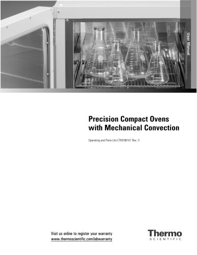 Precision Compact Ovens with Mechanical Convection