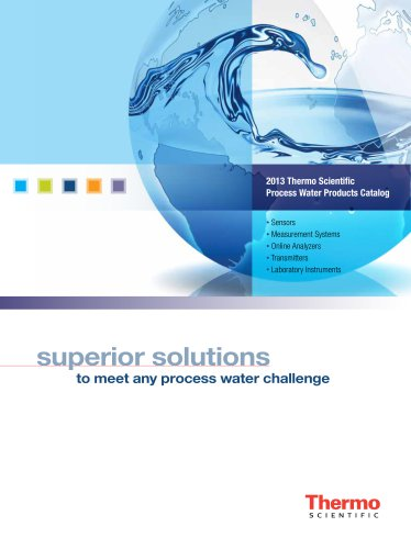 Process Water Products Catalog