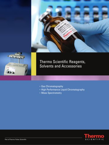 Reagents, Solvents and Accessories