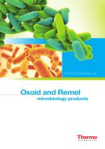 Remel and Oxoid Product Catalog, Europe