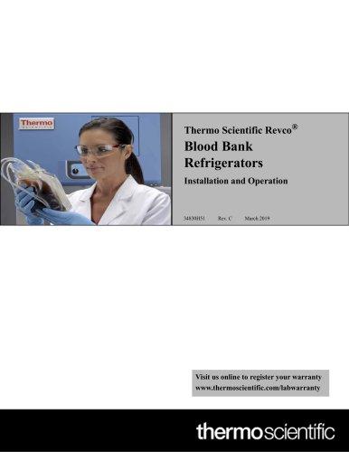 Revco® Blood Bank Refrigerators