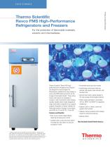 Revco FMS High-Performance Refrigerators and Freezers