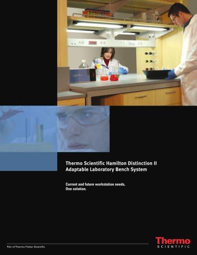Thermo Scientific* Hamilton* Distinction II Adaptable Laboratory Bench System