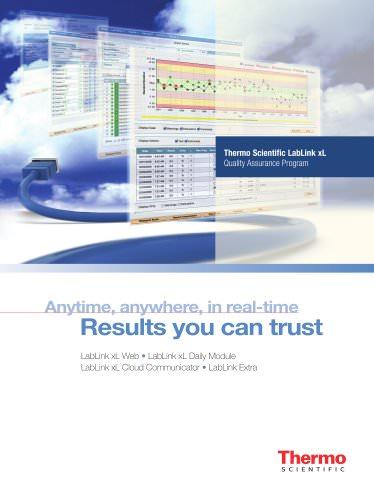Thermo Scientific LabLink xL Quality Assurance Program