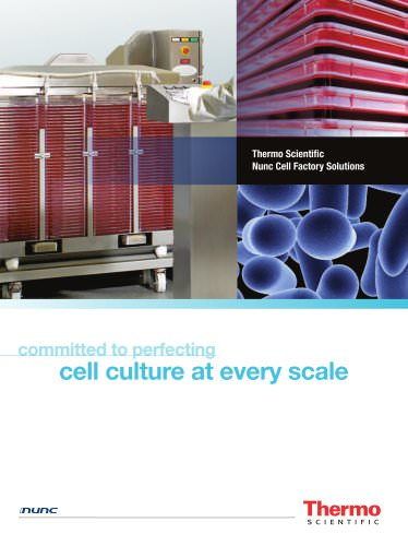 Thermo Scientific Nunc Cell Factory Solutions