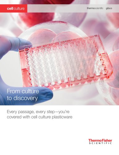 Thermo Scientific Nunc Solutions for Cell Culture and Growth