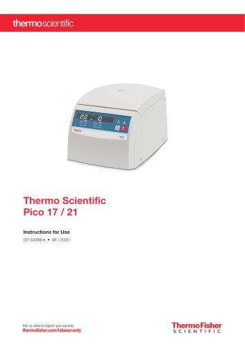 Thermo Scientific Pico 17 / 21