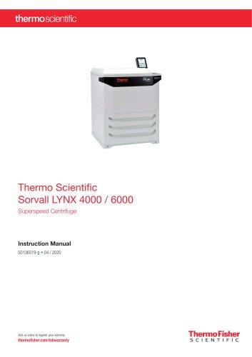 Thermo Scientific Sorvall LYNX 4000 / 6000