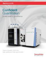 TSQ Fortis Triple Quadrupole Mass Spectrometer System