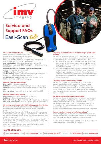 Easi-Scan:Go FAQ