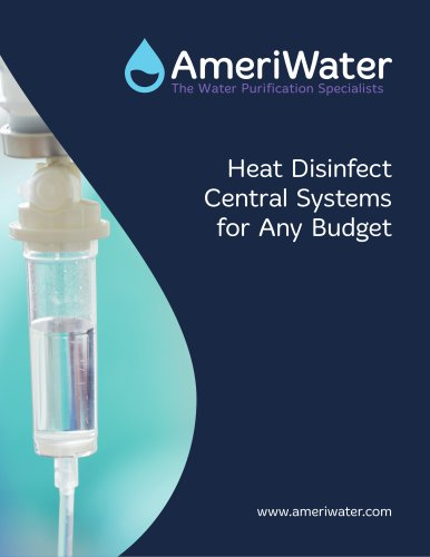AmeriWater Heat Disinfect Dialysis Water Solutions