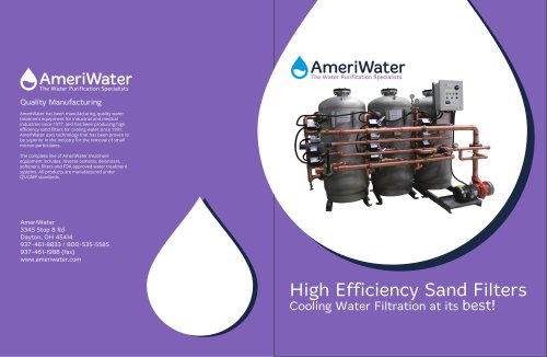 AmeriWater High Efficiency Filtration Solutions