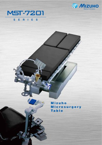 MST-7201B/BX Electro-hydraulic Operating Table for Microsurgery