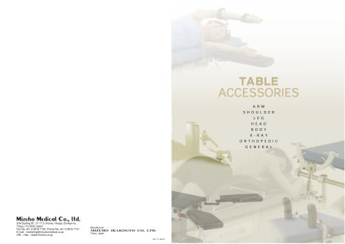 Table Accessories Catalog