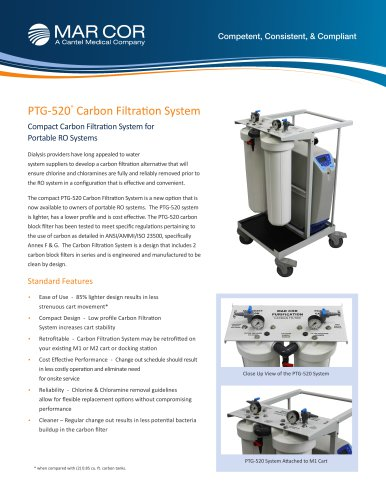 PTG-520 Compact Carbon Filtration System