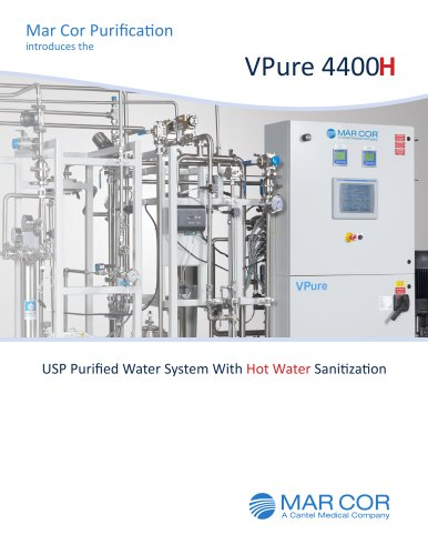 VPure 4400H USP Water System Brochure