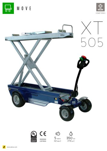 XT505 Electric vehicle with lifting system