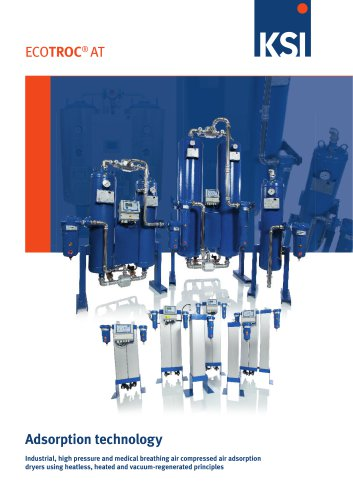 ECOTROC AT Adsorption dryers
