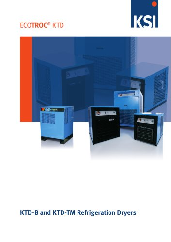 ECOTROC® KTD-B and KTD-TM Refrigeration dryers high resolution